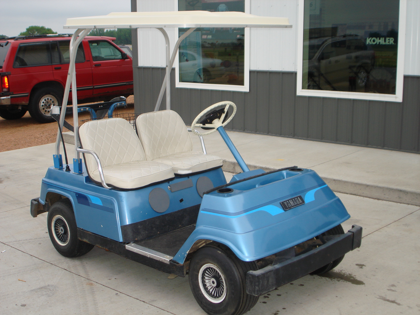 Parts Used: Yamaha Golf Cart Parts Used