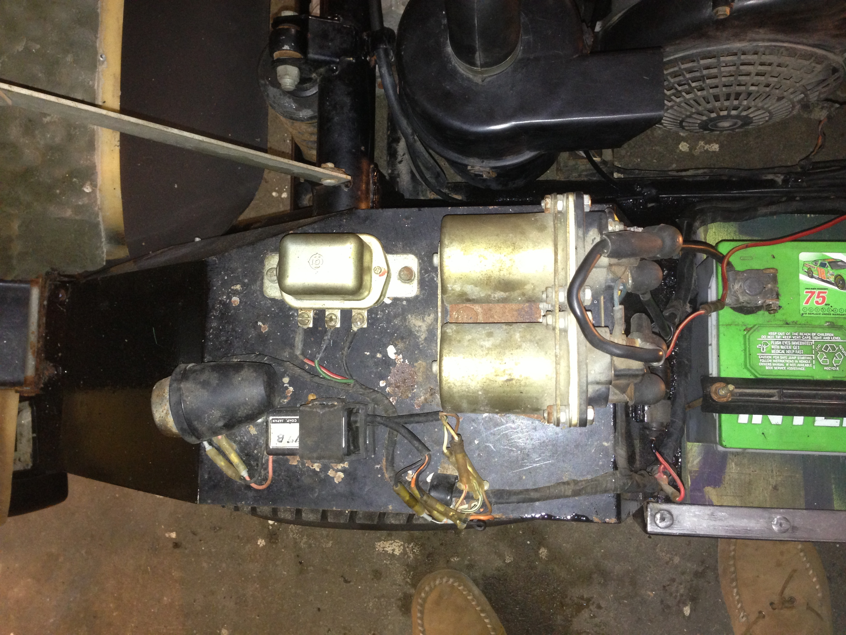 Yamaha G1 Restoration Project Free Image About Wiring Diagram On Vw Golf Front Suspension Solenoids